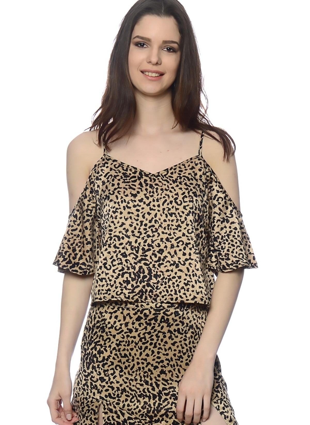 Mink Pink Bluz Im16s1507 Cheetah Fever Shou – 56.99 TL